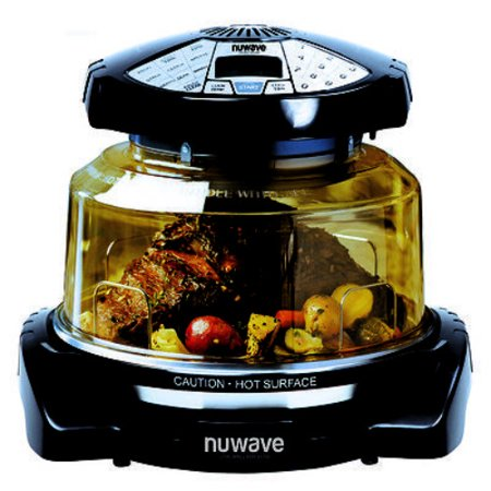 NuWave Elite Oven w/ Extender Ring, Stainless Steel Liner and Cooking