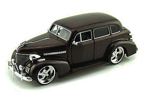 1939 Chevy Master Deluxe, Brown Jada Toys Bigtime Kustoms 90224 1 24 scale Diecast Model... by Jada