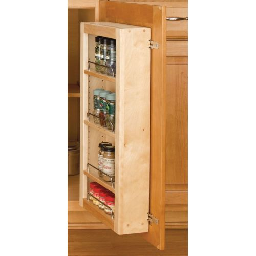 "Rev-A-Shelf 4WDP18-51 4WP Series 51"" Door Unit Single Base Pantry with Hardware"