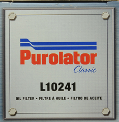 Purolator Classic Oil Filter L  WalmartCom