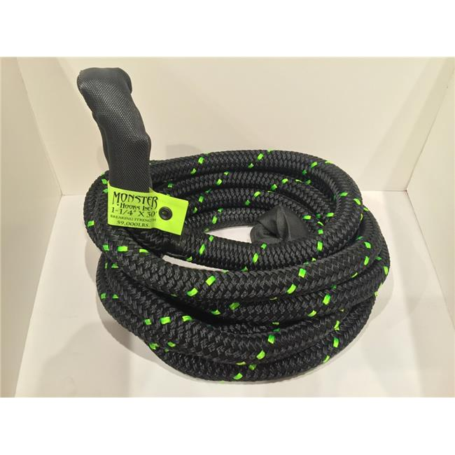 ASR Offroad 1-1//4 x 30 ft Ultimate Kinetic Recovery Rope