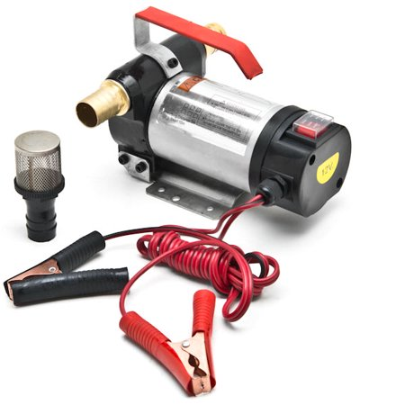 12v Fuel Transfer Pump - Biltek 12 Volt Fuel Oil Transfer Pump Diesel Kerosene Biodiesel 12V DC 10.5 gpm Pumps