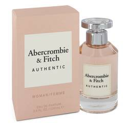 Abercrombie & Fitch Authentic Perfume By Abercrombie & Fitch Eau De Parfum Spray 3.4 oz Eau De Parfum Spray