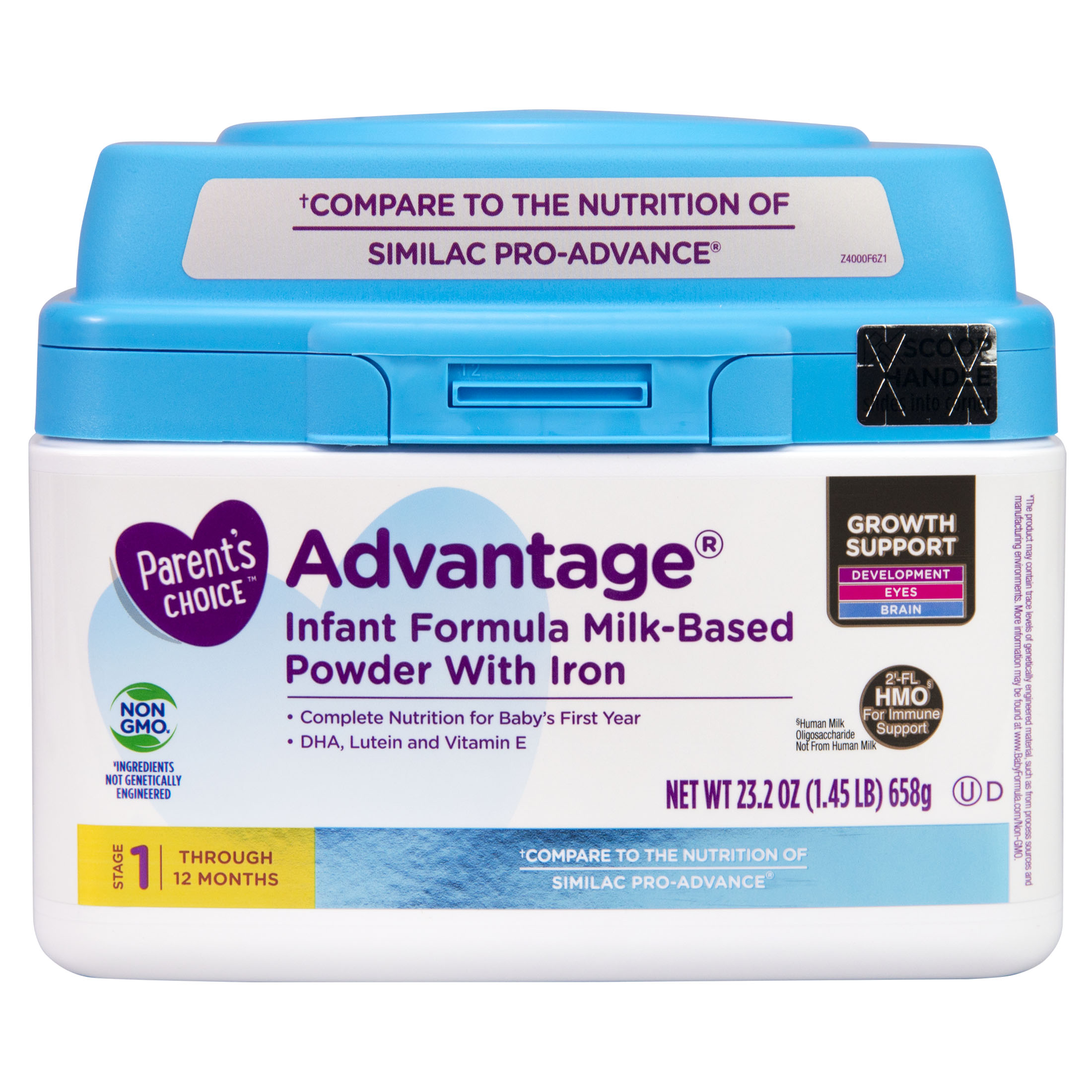 Parent s Choice HMO & Non GMO Advantage Infant Formula 23 2 oz