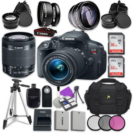 Canon EOS Rebel T5i Digital SLR Camera with Canon EF-S 18-55
