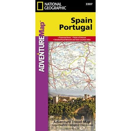 Universal Map Spain/Portugal Adventure Map