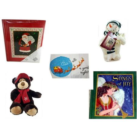 Christmas Fun Gift Bundle [5 Piece] - Lego Merry  20 Page Photo Album - Woodniks