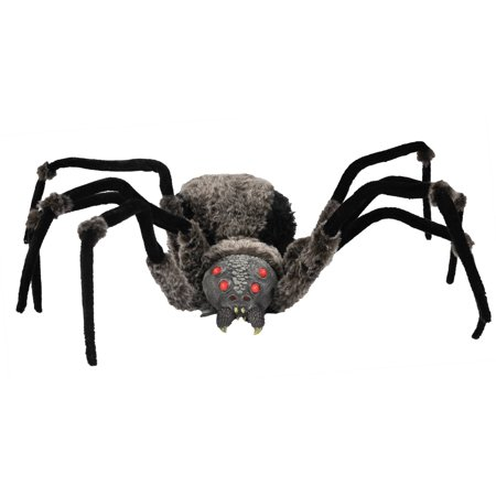 Giant Spider with LED Eyes Halloween Decoration