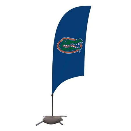 Victory Corps 810029FLA-002 7.5 ft. Florida Gators Razor Feather NCAA Flag with Cross Base - No.002 - image 1 of 1