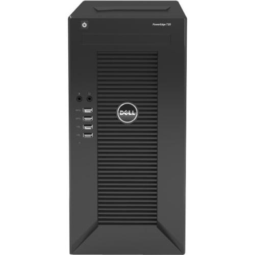 Dell PowerEdge T20 Mini-tower Server - 1 x Intel Xeon E3-...