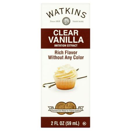 Watkins Imitation Clear Vanilla Extract  2 Fl Oz