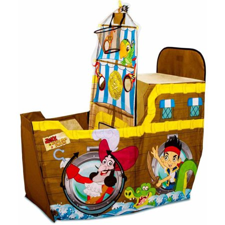 Playhut Disney Jake and the Neverland Pirates Coconut Shooter Pirate Ship