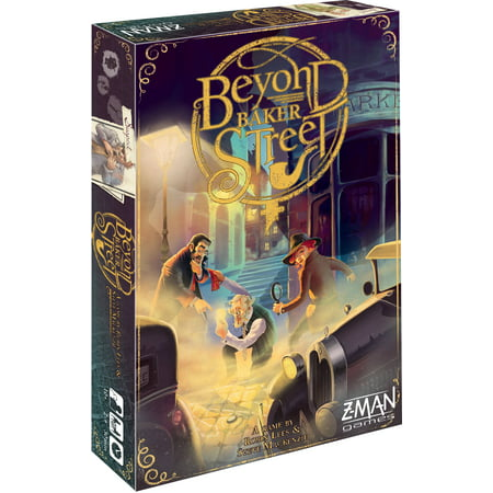 Beyond Baker Street Cooperative Board Game