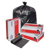 Tough Guy 31DK80 Black Linear Low Density Polyethylene 56 gal. Trash Bag