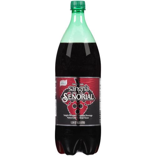 Sangria Senorial Carbonated Beverage, 1.58 qt