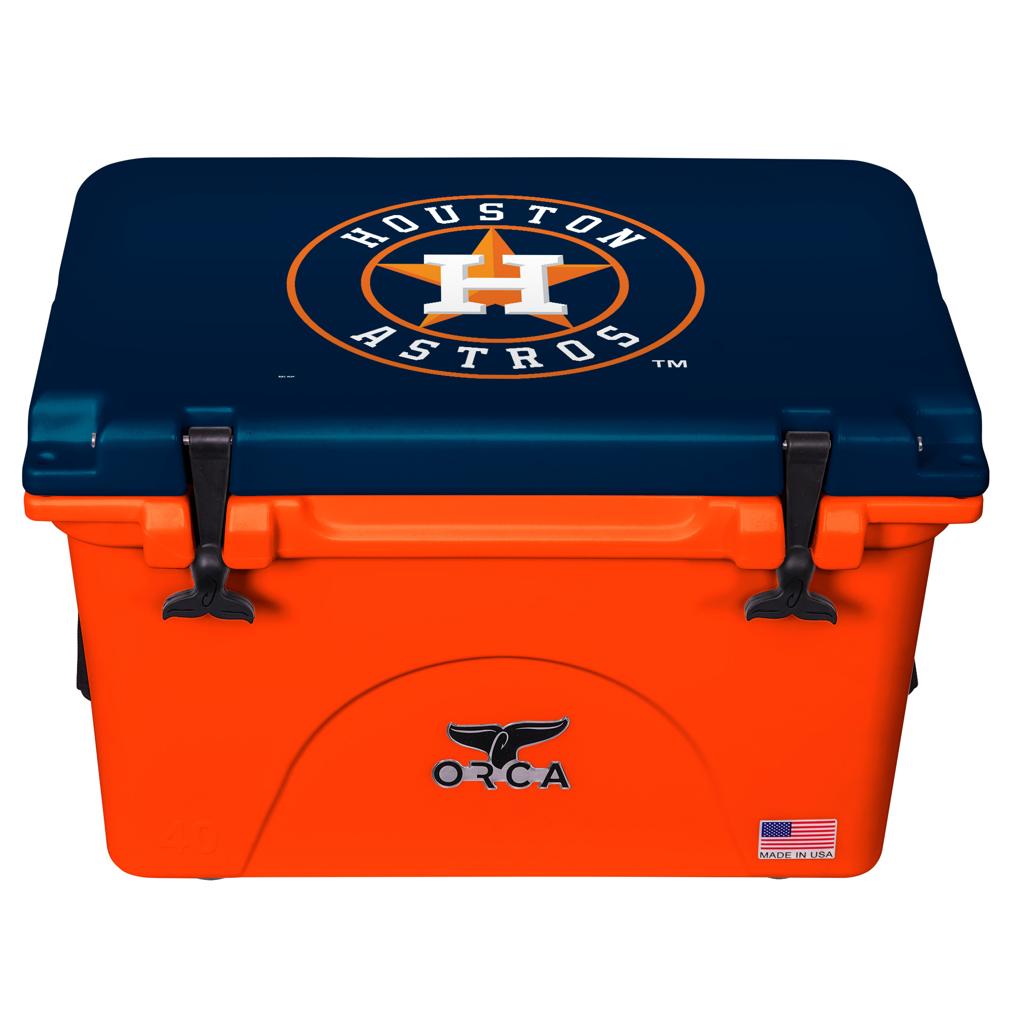 Houston Astros ORCA 40-Quart Hard-Sided Cooler - No Size