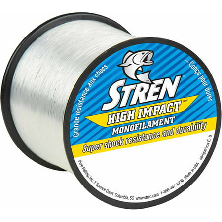 - Stren High Impact Monofilament Fishing Line