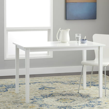 TMS Contemporary Dining Table, Multiple Finishes (Carolina Cottage Ivory Dining Table)