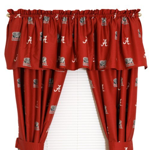 College Covers Collegiate Printed Curtain Panels