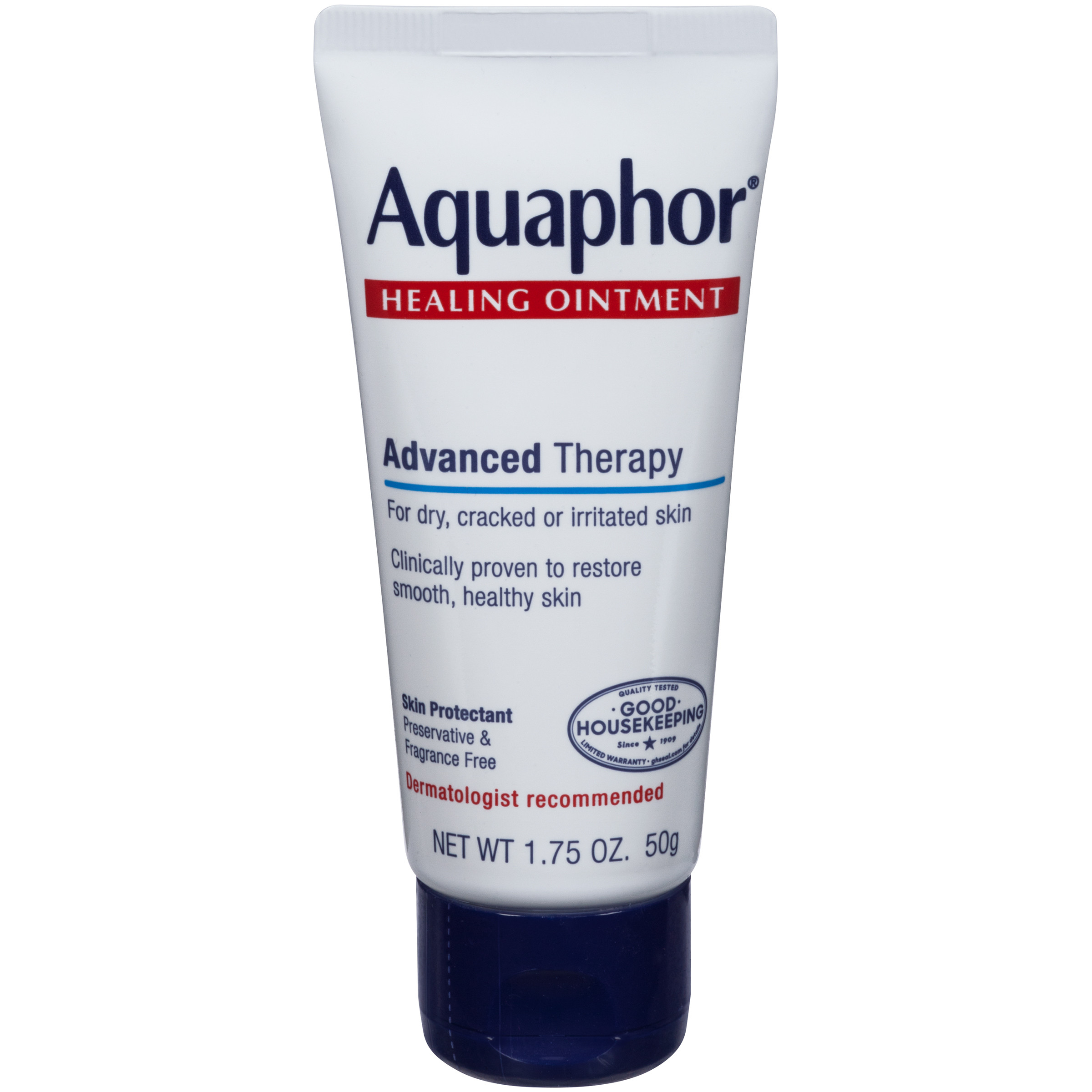 Aquaphor Advanced Therapy Healing Ointment Skin Protectant 1.75 oz. Tube