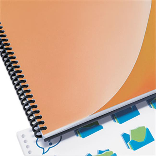 Design View Presentation Binding System Covers, 11 x 8.5, Frost, 25-Pack by RoomFactory