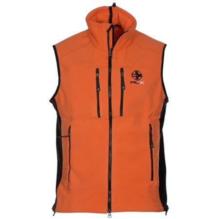 RALPH LAUREN RLX Zip Up Fleece Vest Bright Orange Medium M #1: 51f2bd86 cdbf 412d be18 9f a31c1 1 f75b1a2d9e6f7250d c3c4e odnHeight=450&odnWidth=450&odnBg=ffffff