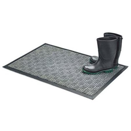 - Bacova Guild 05520 Floor Saver II Doormat, Gray Olefin Fiber, 18 x 30-In.