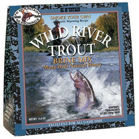 Hi Mountain Wild River Trout Brine Kit