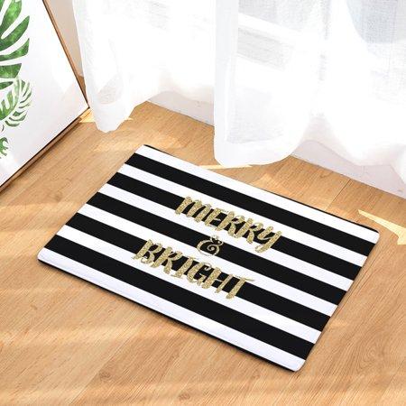 Mosunx Christmas Home Non Slip Door Floor Mats Hall Rugs Kitchen Bathroom Carpet Décor