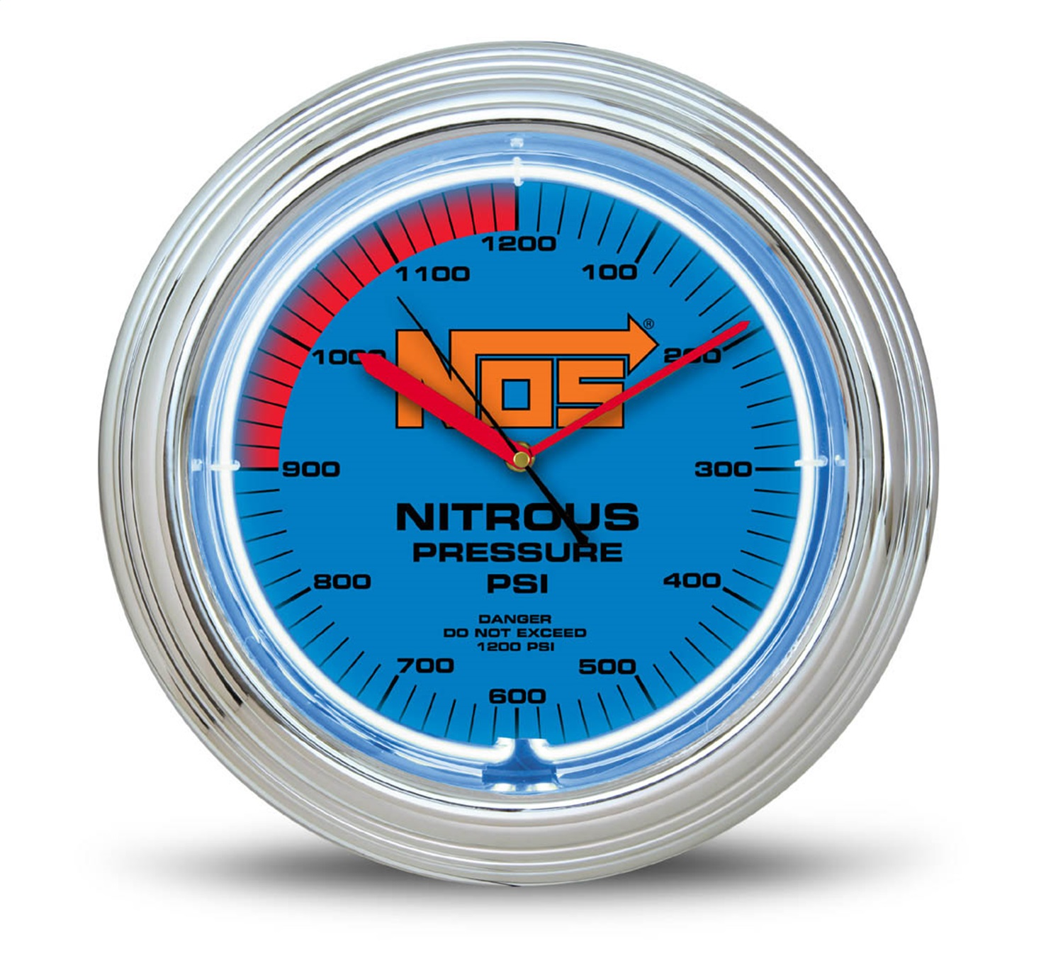 Neon Wall Clock Nos Replacement Auto Part, Easy to Install