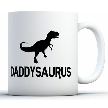 Awkward Styles Daddysaurus Coffee Mug Dinosaur Dad Mug Father's Day Gifts for Him Dad Mug Father Mug Gifts for Dad Coffee Mug Funny Coffee Gifts for Dad Daddy Coffee Mug Dad Gifts for Coffee Lovers