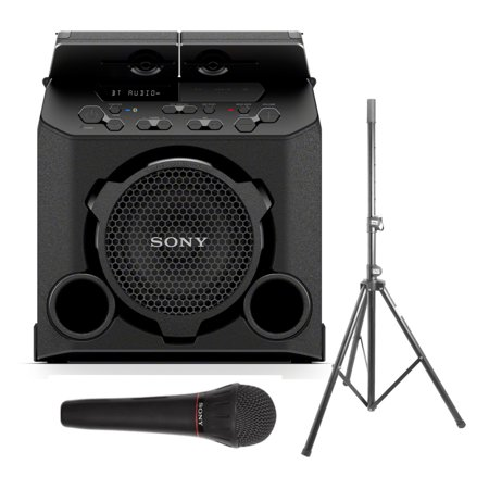 Sony GTK-PG10 Portable Wireless Speaker with Speaker Stand and