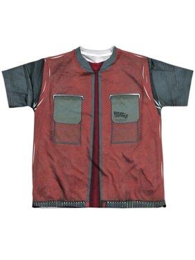 Back To The Future - Future Jacket - Youth Short Sleeve Shirt - Medium