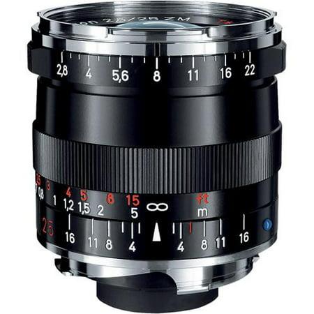 Zeiss 25mm f/2.8 Biogon T* ZM Lens for M Mount Cameras - Black