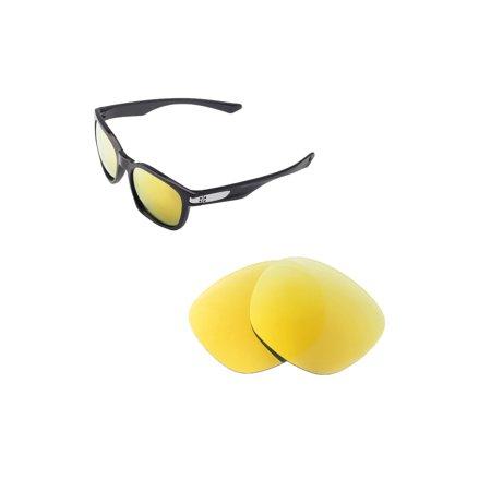 f921695d874 Walleva - Walleva 24K Gold Polarized Replacement Lenses for Oakley Garage  Rock Sunglasses - Walmart.com