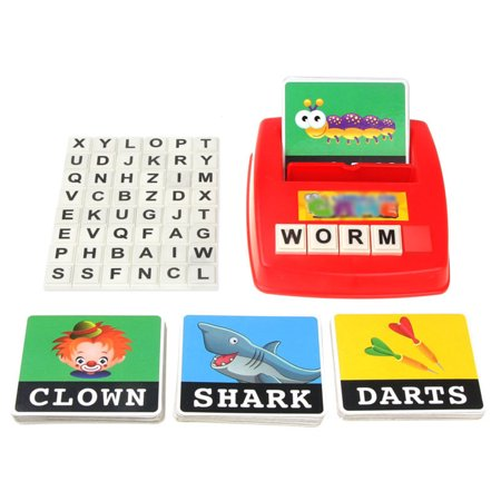 JOYFEEL Clearance 2019 Kids Learning Entertainment English Letter Sight Words Cards Phonics Educational Games for 0-14 Ages Best Toy Gifts for Children