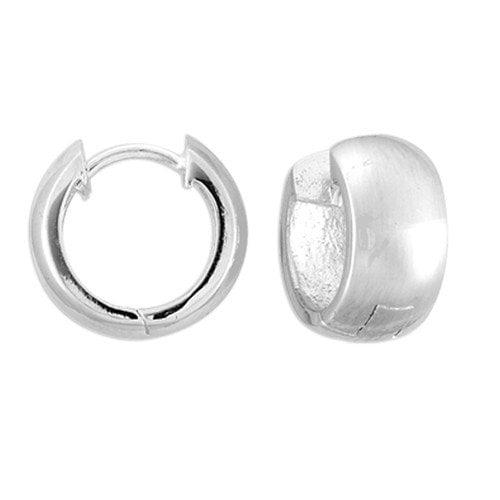 Sterling Essentials Sterlng Silver Classic Hoop Earrings