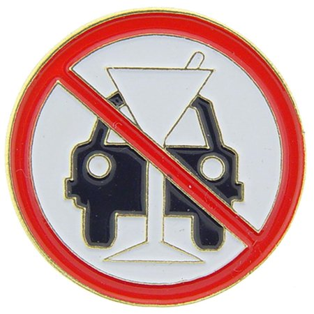 Derive Drink (Don't Drink & Drive Pin 1