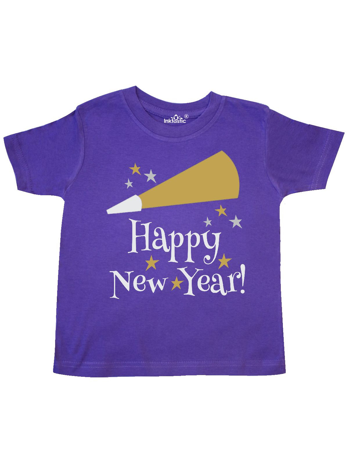 68091eee7 Inktastic - Happy New Year holiday Toddler T-Shirt - Walmart.com