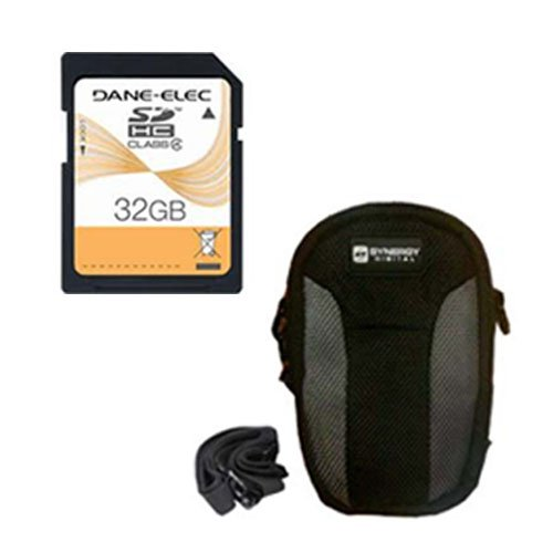 Minox DCC 14.0 Digital Camera Accessory Kit includes: SD32GB Memory Card, SDC-23 Case by Synergy Digital