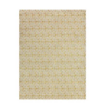 7 5 X 10 5 Catacomb Interlace Heather Gray Beige And