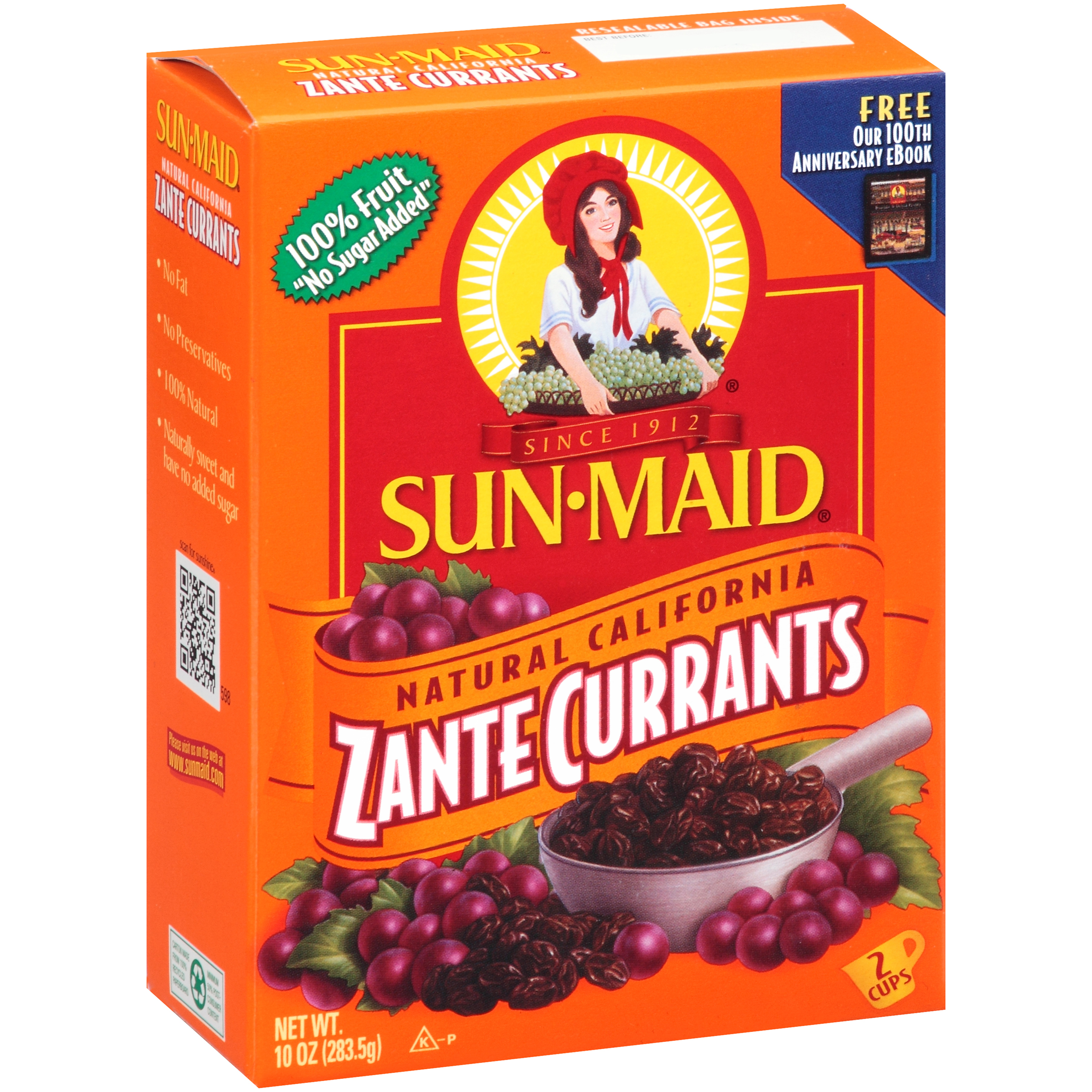 Sun-Maid® Zante Currants, 10-Oz Box - Walmart.com ...