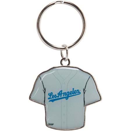 Los Angeles Dodgers Reversible Home/Away Jersey Keychain - No Size