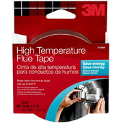 "3M High-Temperature Flue Tape, 1.5"" x 15'"