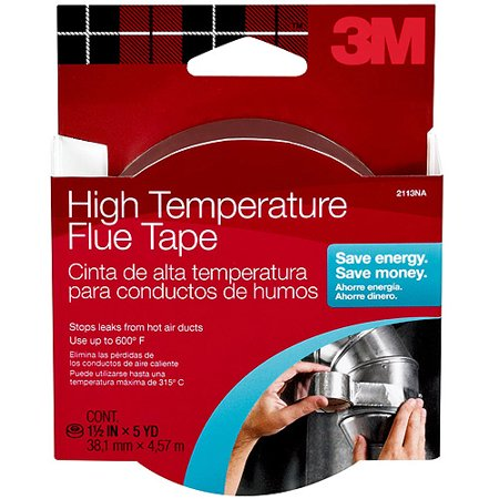- 3M High-Temperature Flue Tape, 1.5