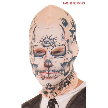 Faux Real Shirt F134334-OSFM Tattoo Face Mask - OSFM - Real Slipknot Masks Sale