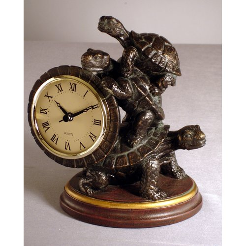 Judith Edwards Designs Turtle 8'' Clock