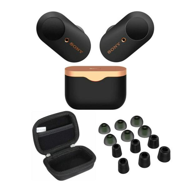 Sony WF-1000XM3 True Wireless Noise-Canceling Earbud Headphones (Black) Bundle