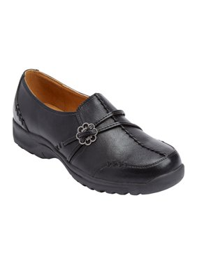 Comfortview Women's Wide Width The Natalia Slip-On By Comfortview Loafers Shoes