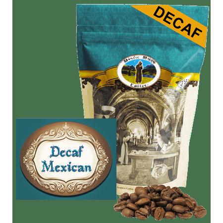 Mystic Monk Coffee - Decaf Mexican - Mild Roast Whole Bean Coffee (Decaf Whole Bean)